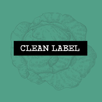Nos engagements - Clean label