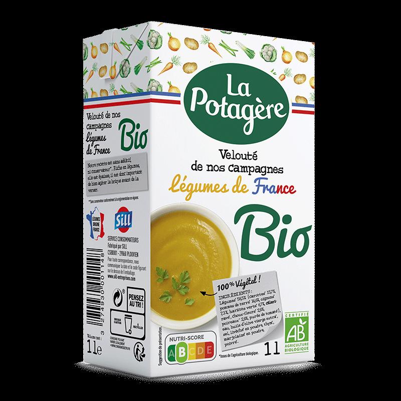 Velouté de nos campagnes Légumes de France 1L