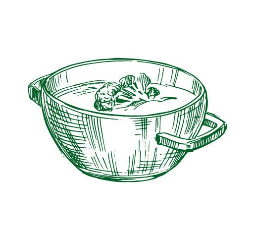 Bol de soupe illustration