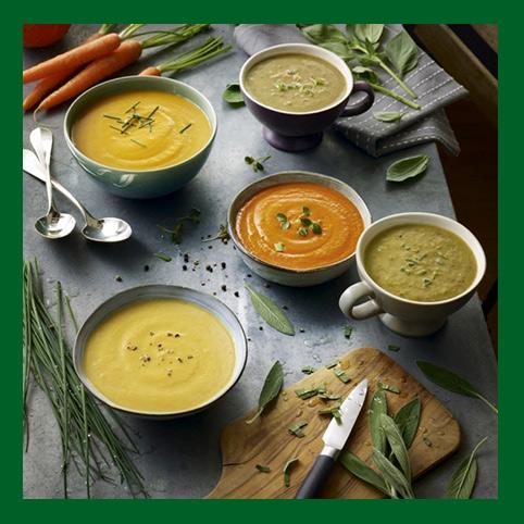 Gamme de soupes