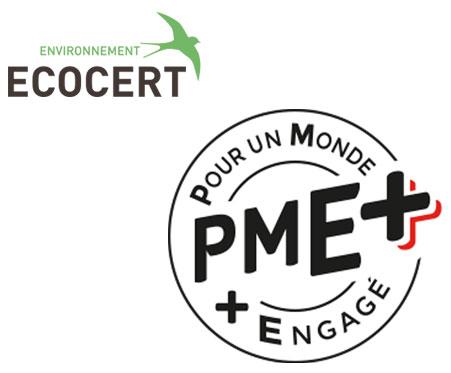 Logo Ecocert & PME+