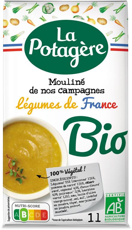Mouliné de nos campagnes Légumes de France 1L