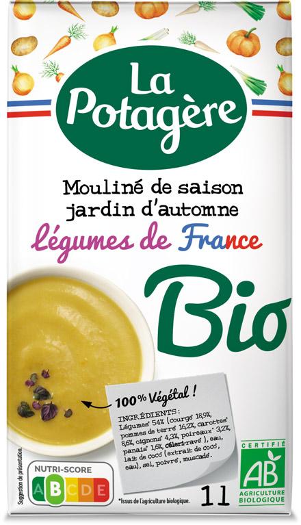 Mouliné de saison Jardin d'automneLégumes de France 1L