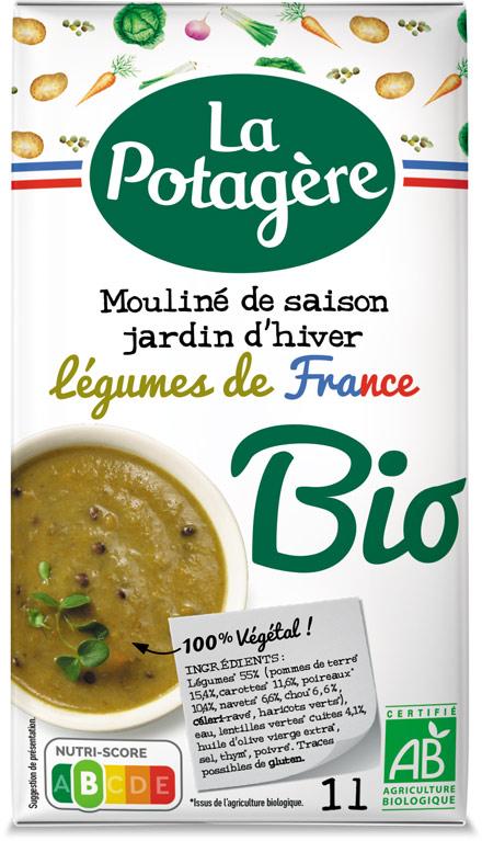 Mouliné de saison Jardin d'hiverLégumes de France 1L