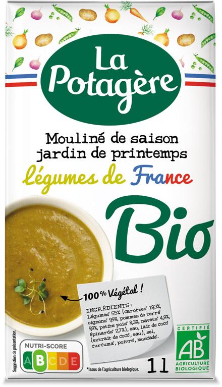Mouliné de saison Jardin de PrintempsLégumes de France 1L