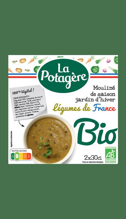 Mouliné de saison Jardin d'hiverLégumes de France 2x30cl