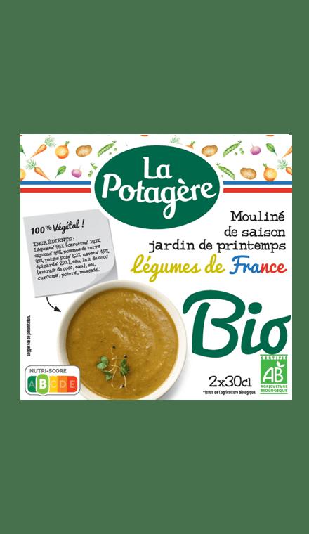 Mouliné de saison Jardin de PrintempsLégumes de France 2x30cl