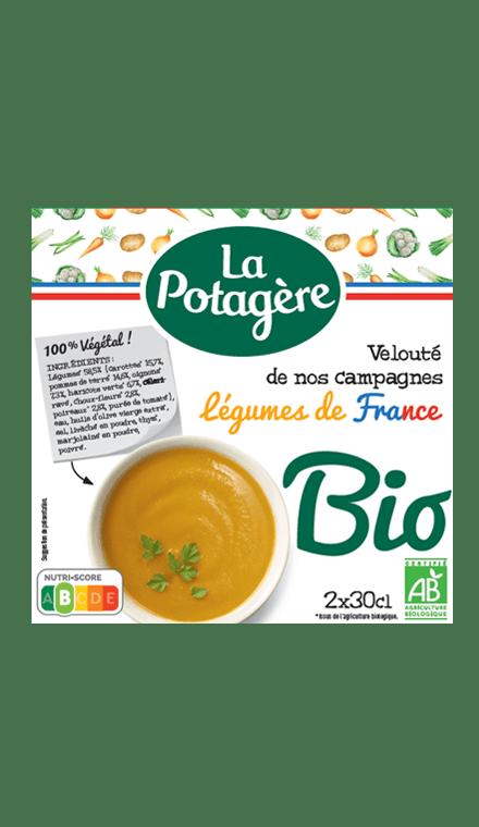 Mouliné de nos campagnes Légumes de France 2x30cl