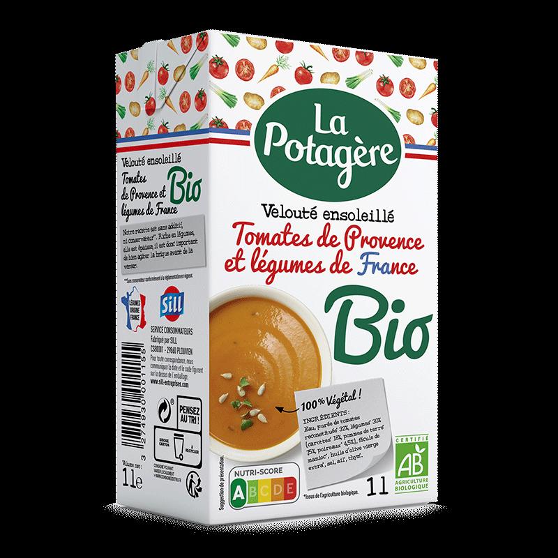 Velouté ensoleillé Tomates de Provence et légumes de France 1L